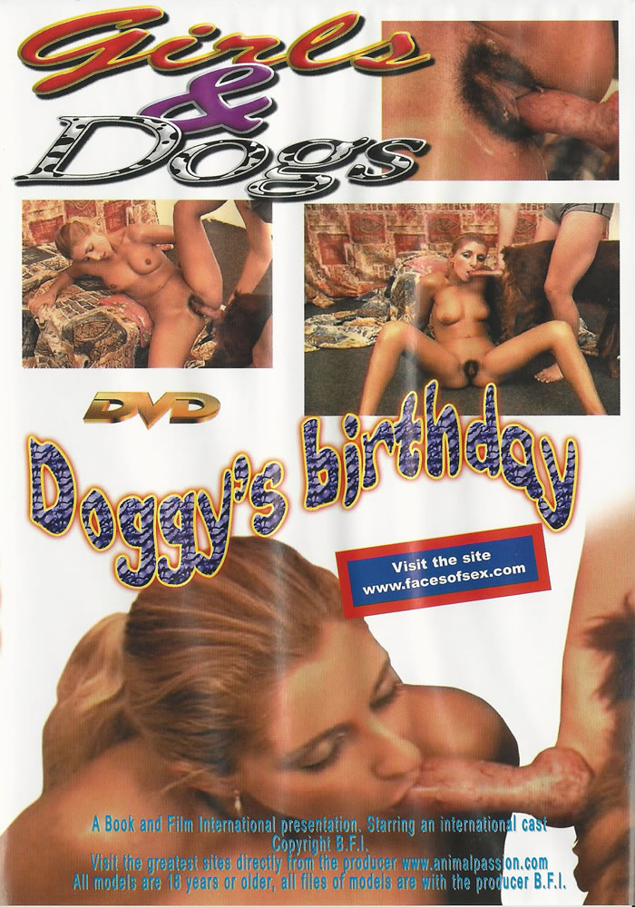 animal dvd doggys birthday