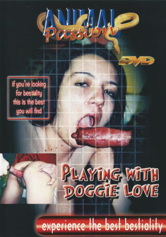 playing with doggie love animal sex apdv171-1