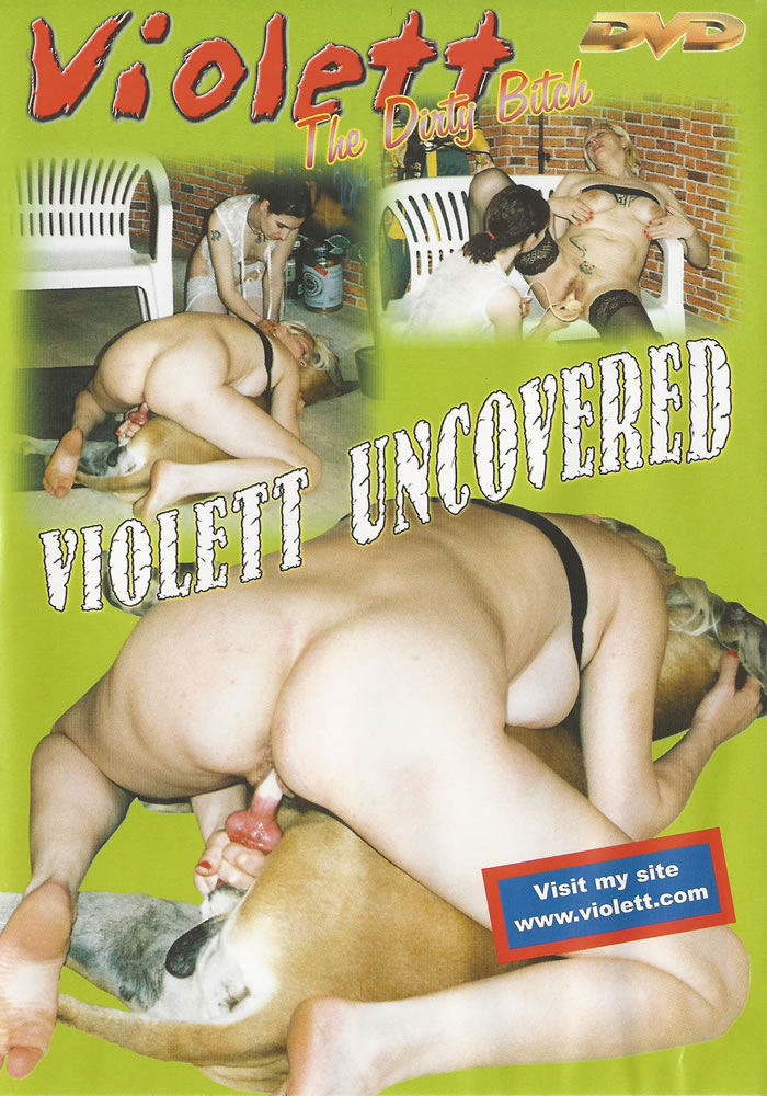 Violett uncovered animal sex