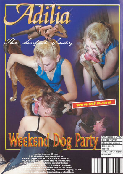 Weekend dog party - Animal Dog Sex DVD