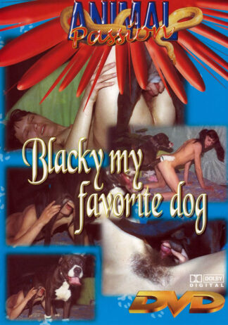 Animal Passion Blacky My Favorite Dog - Dog Sex DVD