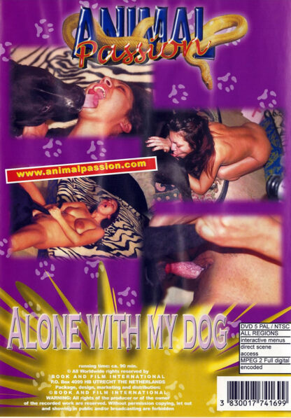 Animal Passion Alone with my dog - Hardcore animal sex dvd