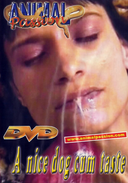 Animal Passion A nice dog cum taste - Animal Sex DVD