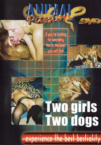 Animal Passion Two Girls Two Dogs Animalsex DVD