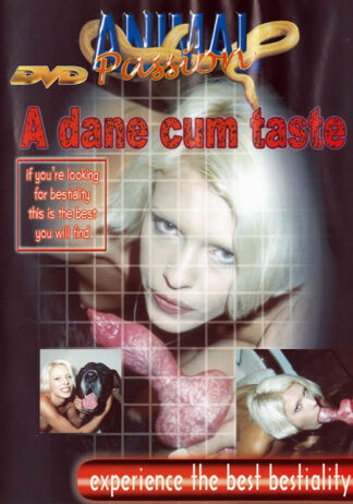 Animal Passion A Dane Cum Taste - Animalsex DVD
