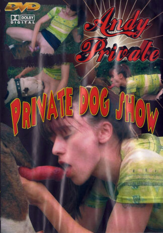 Andy Private Dog Show - Animal Sex DVD