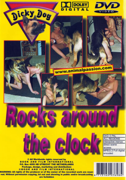 Dicky Dog Rocks Around the Clock - Animal Sex DVD