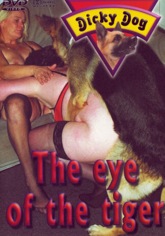 Dicky Dog They Eye of The Tiger - Dog Animal Sex DVD