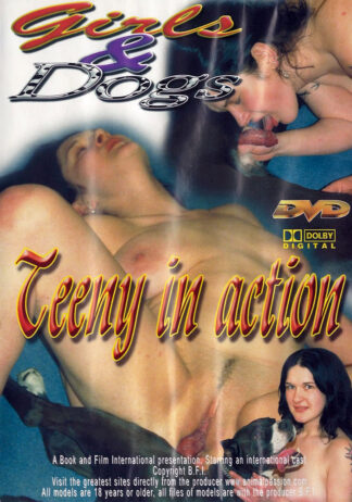 Girls & Dogs - Teeny in action - Animal Sex DVD