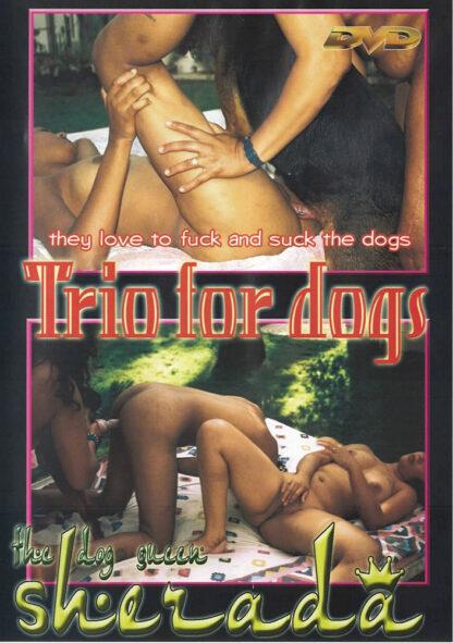 Trio for dogs - The dog queen Sherada Animal Sex DVD