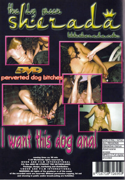 I want this dog anal - The dog queen Sherada Animal Sex