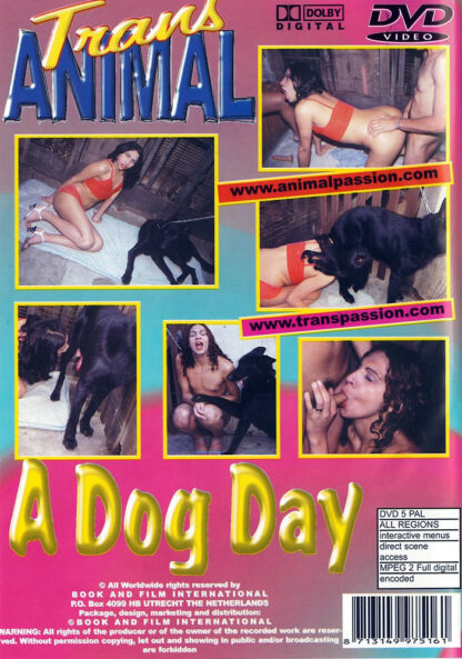 A dog day - Trans Animal Sex DVD