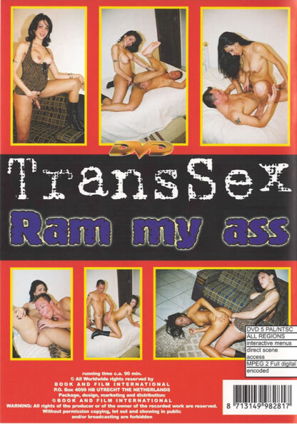 Ram my ass - Transsex Transsexual DVD Movie