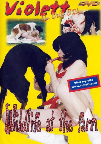 Wildlife at the farm - Violett the dirty bitch Animal Sex DVD