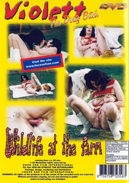 Wildlife at the farm - Violett the dirty bitch Animal Sex DVD