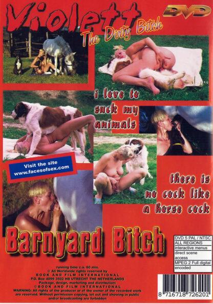 Dog Bitch Violett, the dirty bitch - Animal Sex DVD