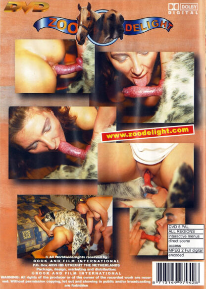Dog Business - Zoo Delight Animal Sex DVD